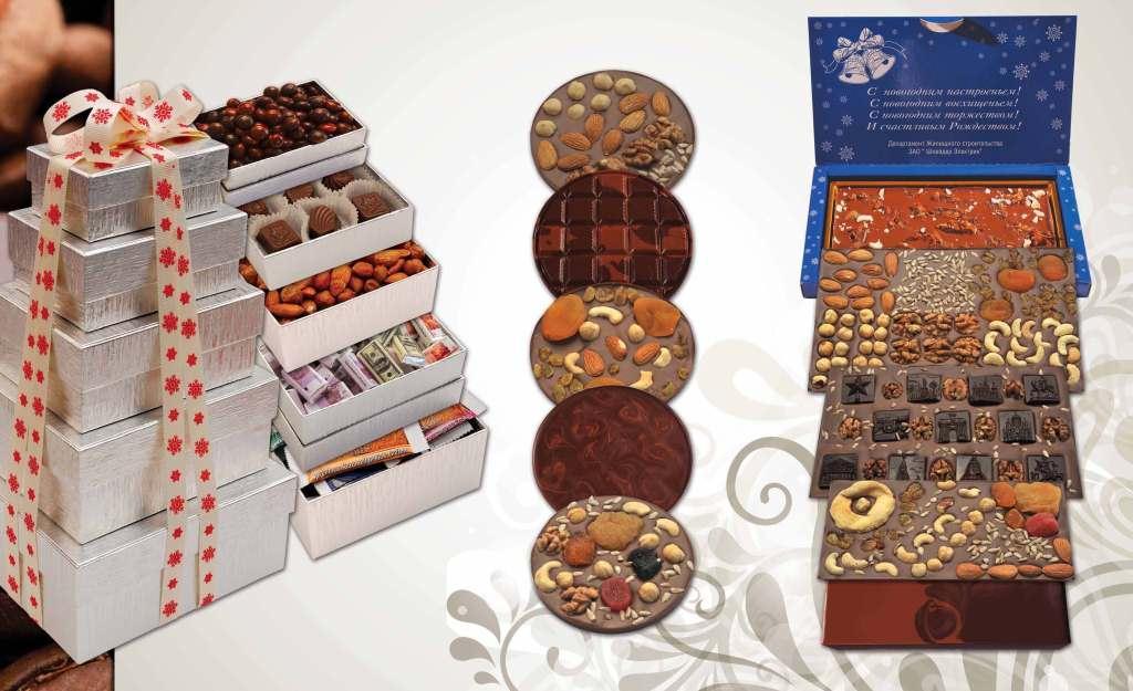 Корпоративные подарки из шоколада 22