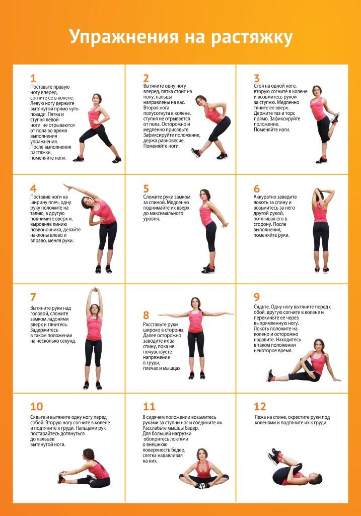 Как правильно делать растяжку для похудения изображение 2